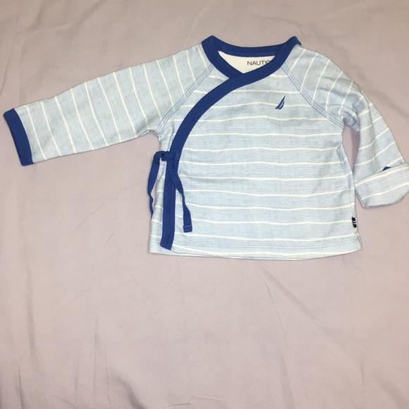 Nautica Shirts Tops L Baby Wrap Shirt Poshmark